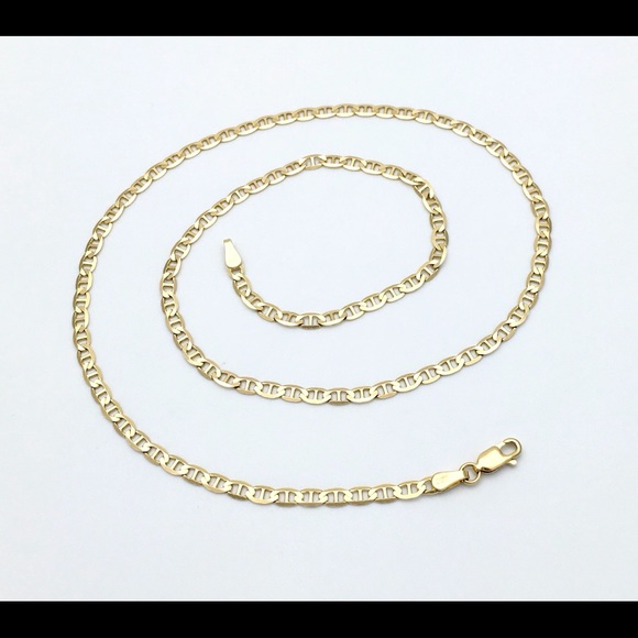 6441629ae Jewelry | 14k Yellow Gold Gucci Link 20 Inches Long Chain | Poshmark